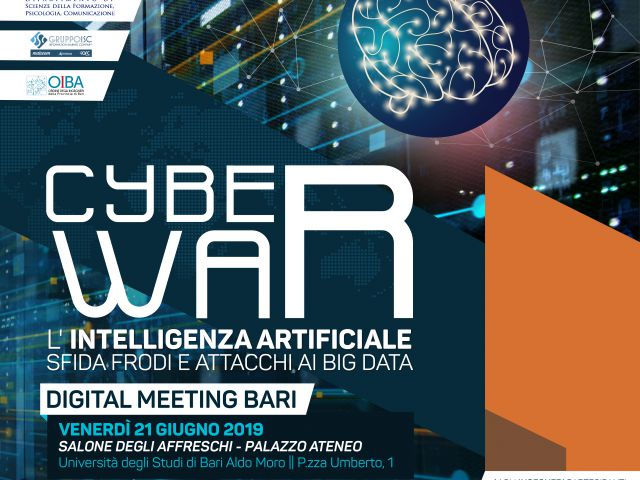 CYBER WAR: L'INTELLIGENZA ARTIFICIALE SFIDA FRODI E ATTACCHI AI BIG DATA